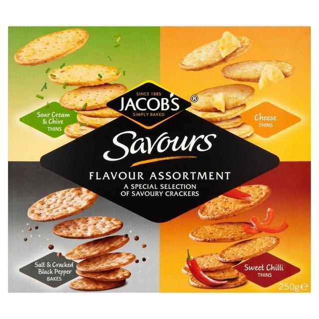 Jacob's Savours Flavour Assortment 250g