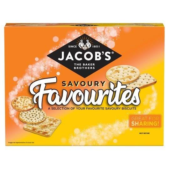 Jacob's Savoury Favourites 200g