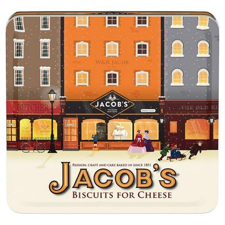 Jacob's Heritage Tin Biscuit for Cheese 300g
