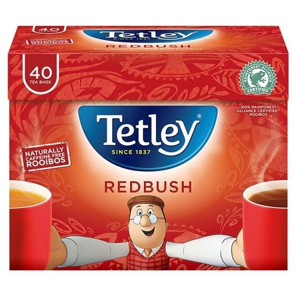 Tetley Redbush 40's