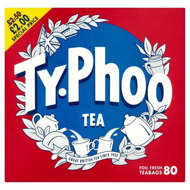 Typhoo Tea 80's PM £2