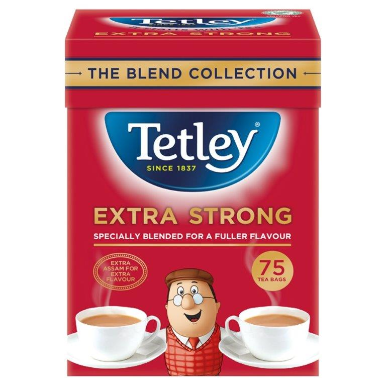 Tetley Blend Collection Extra Strong 75's