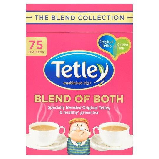 Tetley Blend Collection Blend of Both 75's