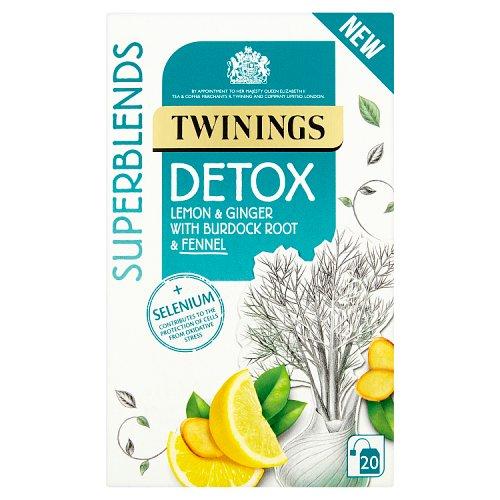 Twinings Superblends Detox Tea Bags 20's