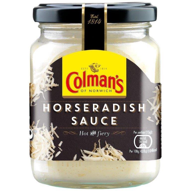 Colman's Horseradish Sauce136g