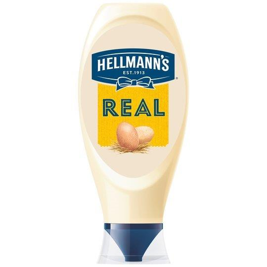 Hellmann's Mayo Squeezy Real 750ml