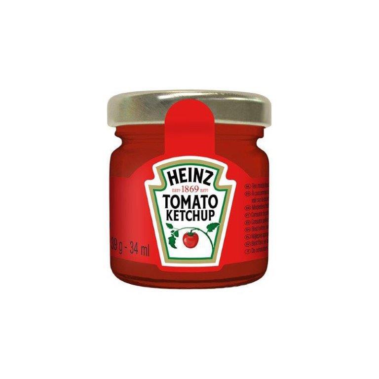 Heinz Tomato Ketchup Mini Glass Jar 39g