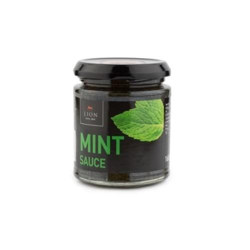 Lion Mint Sauce Glass Jar 165g