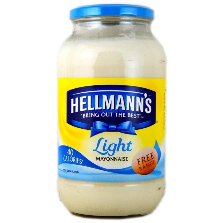 Hellmann's Mayo Jar Light 800g