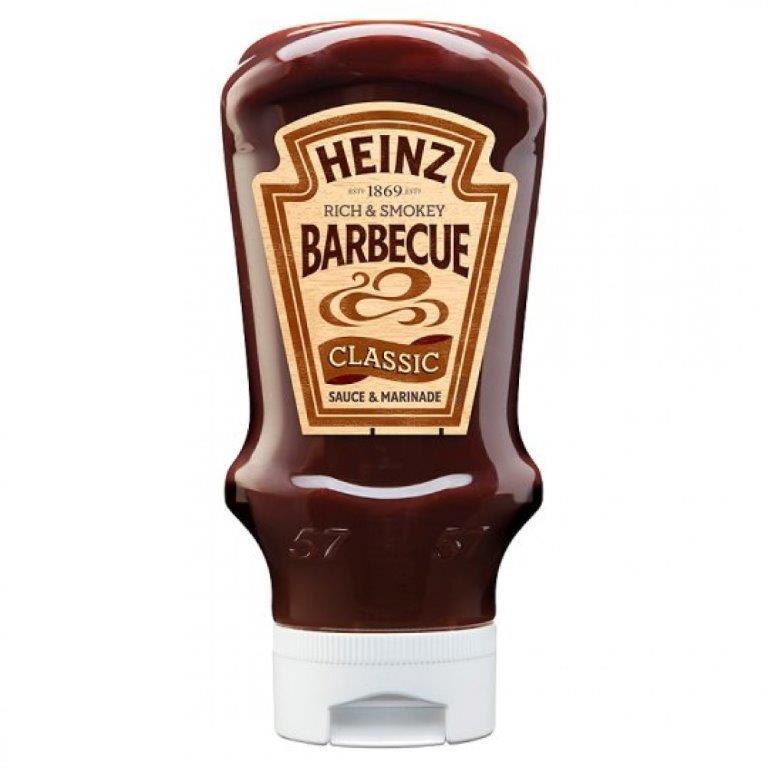 Heinz Classic BBQ Sauce Top Down 480g