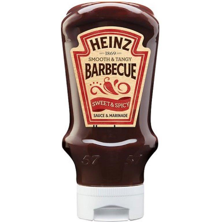 Heinz BBQ Sauce Sweet & Spicy 490g