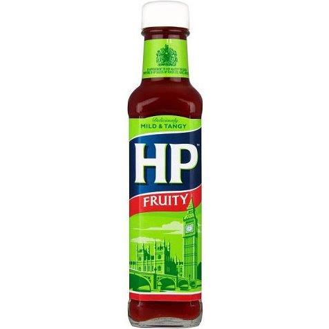 HP Sauce Glass Fruity 255g