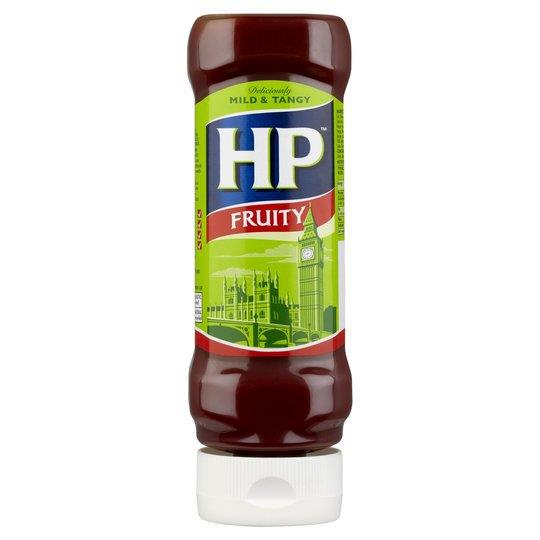 HP Sauce Fruity Squeezy 470g
