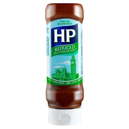 HP Sauce Reduced Salt & Sugar Top Down 450g