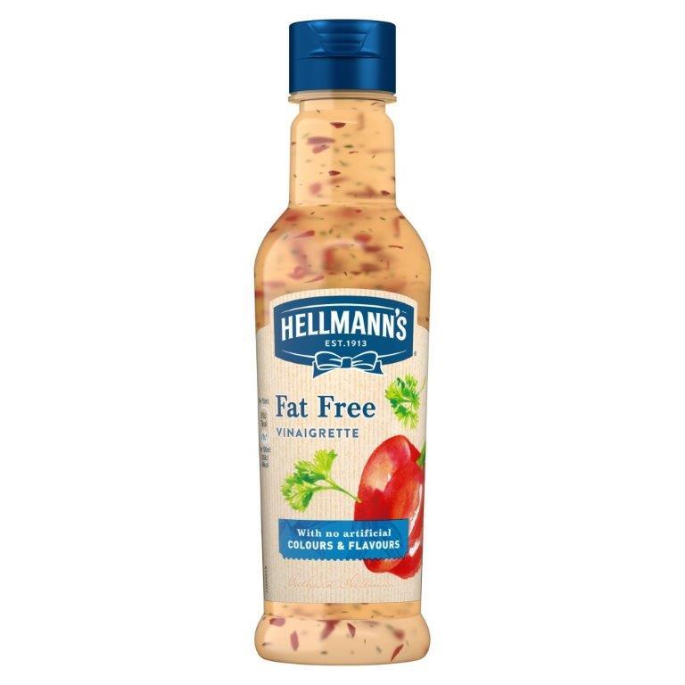 Hellmann's Salad Dressing Fat Free Vinaigrette 210ml