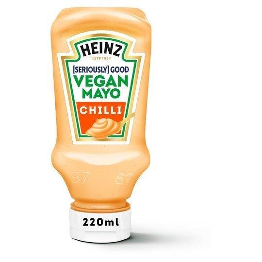 Heinz Vegan Mayo Chilli 220ml NEW