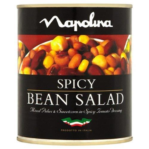 Napolina Spicy Bean Salad 800g