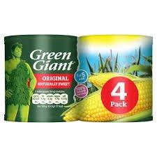 Green Giant Sweet Corn 4pk (4 x 198g)