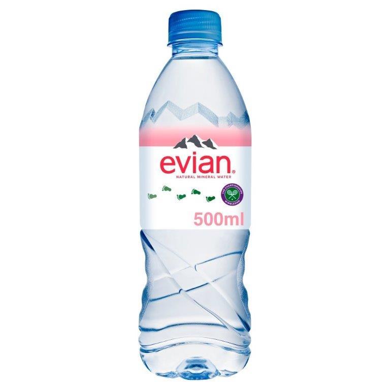 Evian PET 500ml