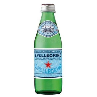 San Pellegrino Natural Sparkling Water Glass 25cl (Australian Label)