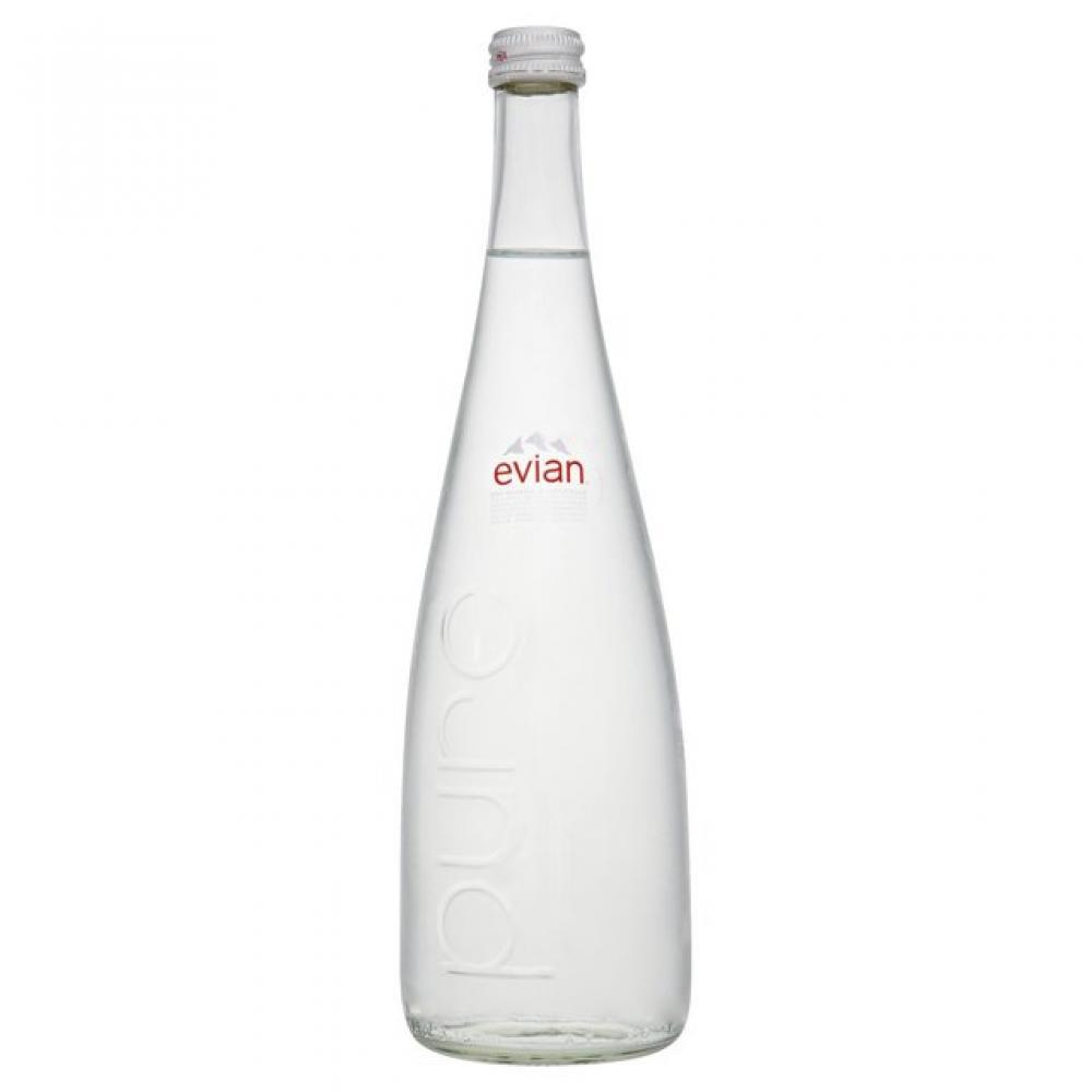 Evian Glass 75cl