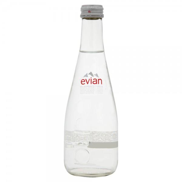 Evian Glass 33cl