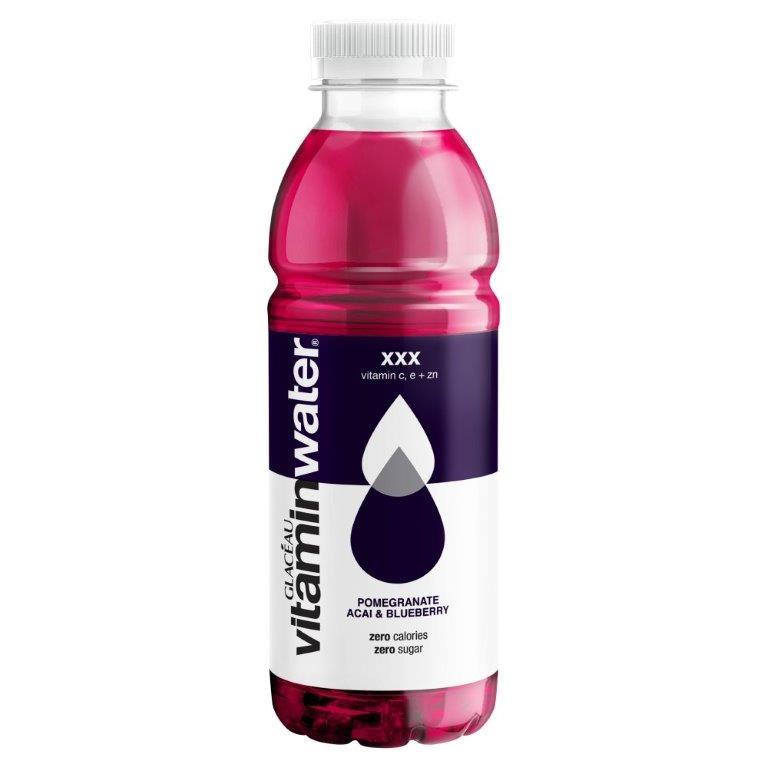 Glaceau Vitamin Water XXX Triple Berry PET 500ml