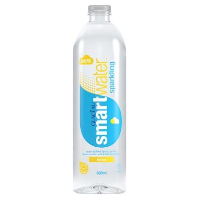 Glaceau Smartwater Sparkling Lemon PET 600ml