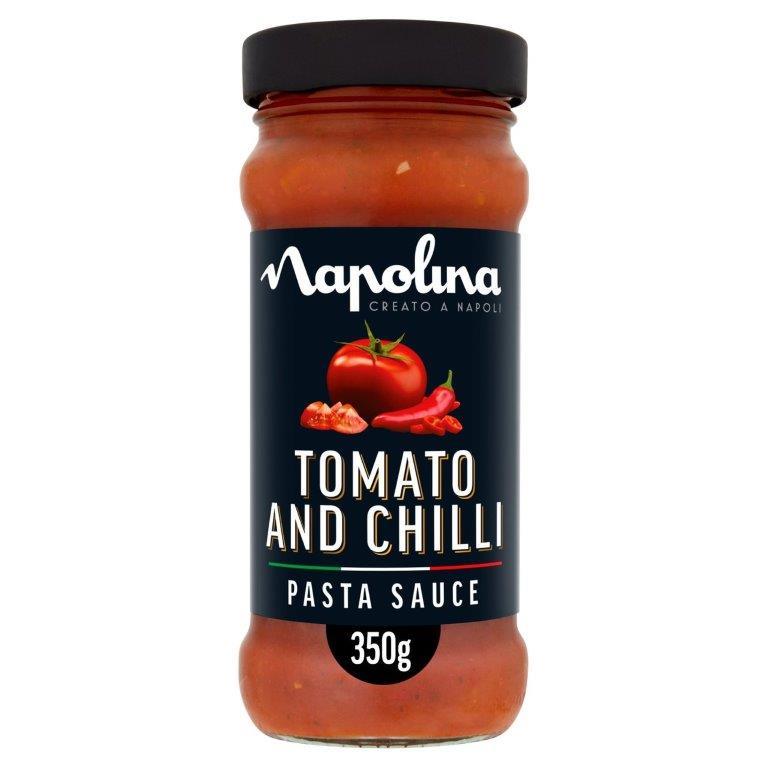 Napolina Tomato & Chilli Sauce 350g