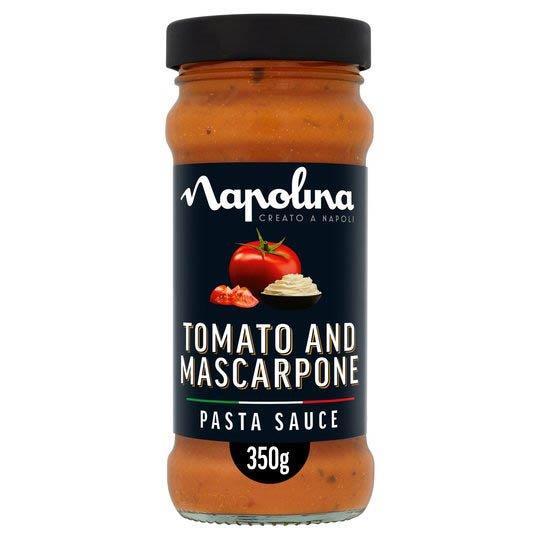 Napolina Tomato & Mascarpone Sauce 350g