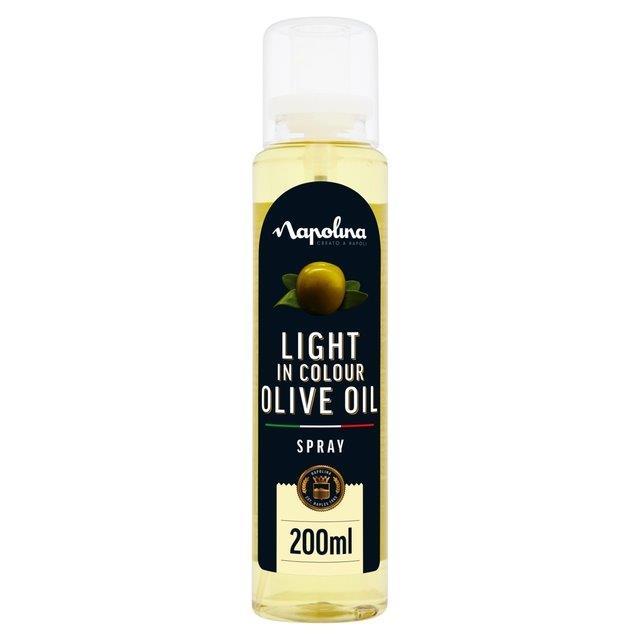 Napolina Olive Oil Light Spray Oil 200ml
