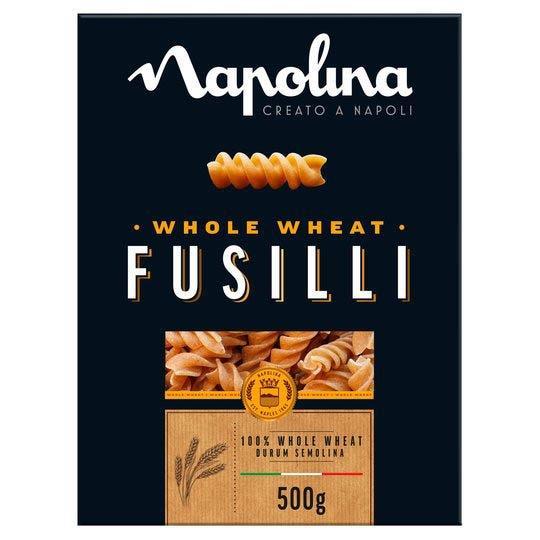 Napolina Wholewheat Fusilli (Srpw) 6 x 500g