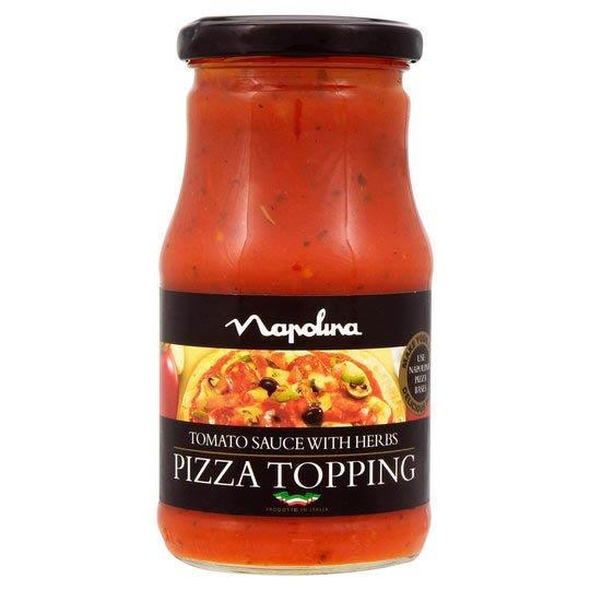 Napolina Pizza Topping Tomato & Herb 300g