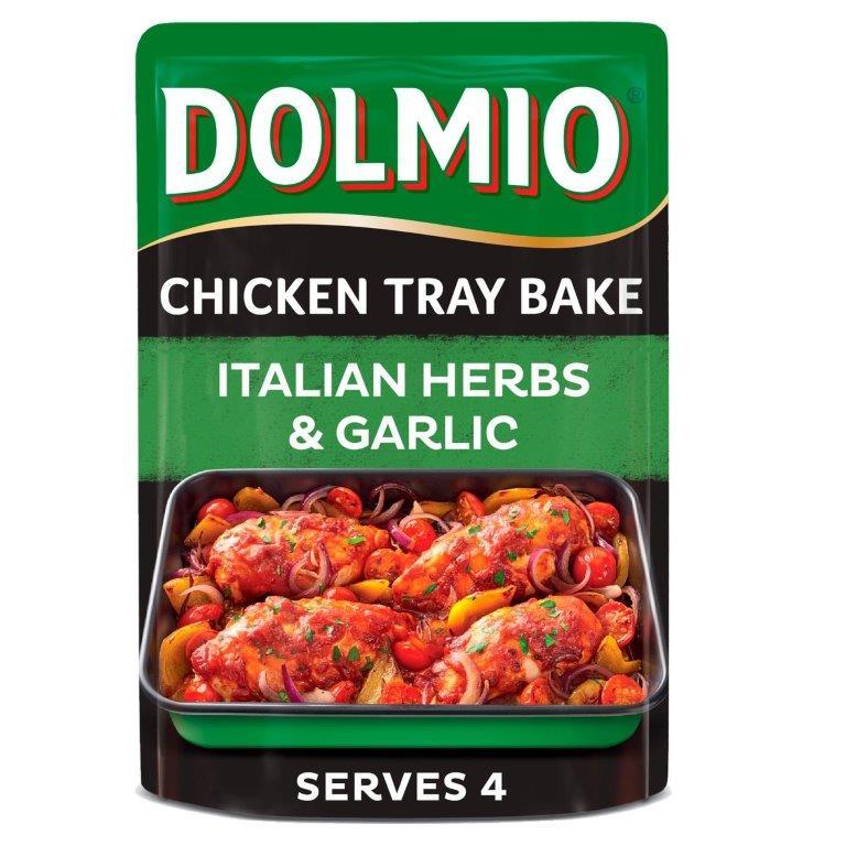 Dolmio Chicken Tray Bake Italian Herbs & Garlic 150g