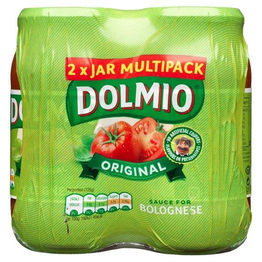 Dolmio Bolognese Sauce Original 2pk (2 x 500g)