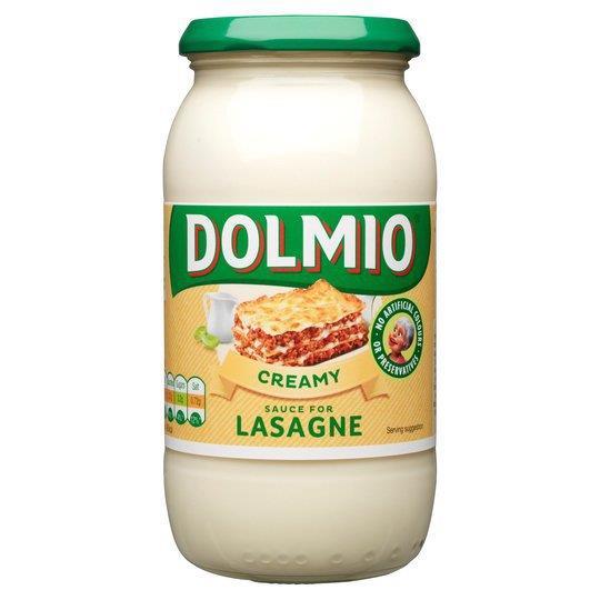Dolmio Lasagne Sauce Original Creamy Sauce 470g PM £1.89