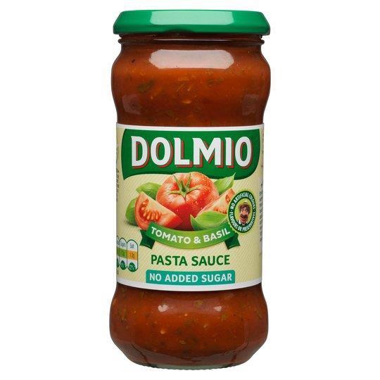 Dolmio Pasta Sauce NAS Tomato & Basil 350g