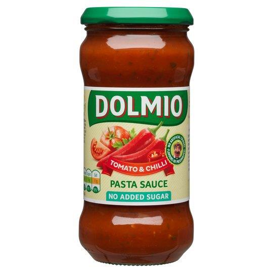 Dolmio Pasta Sauce NAS Tomato & Chilli 350g