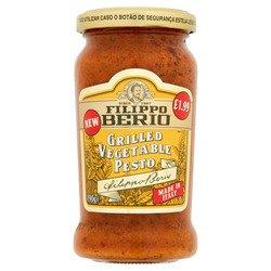 Filippo Berio Pesto Grilled Vegetable 190g PM £1.99