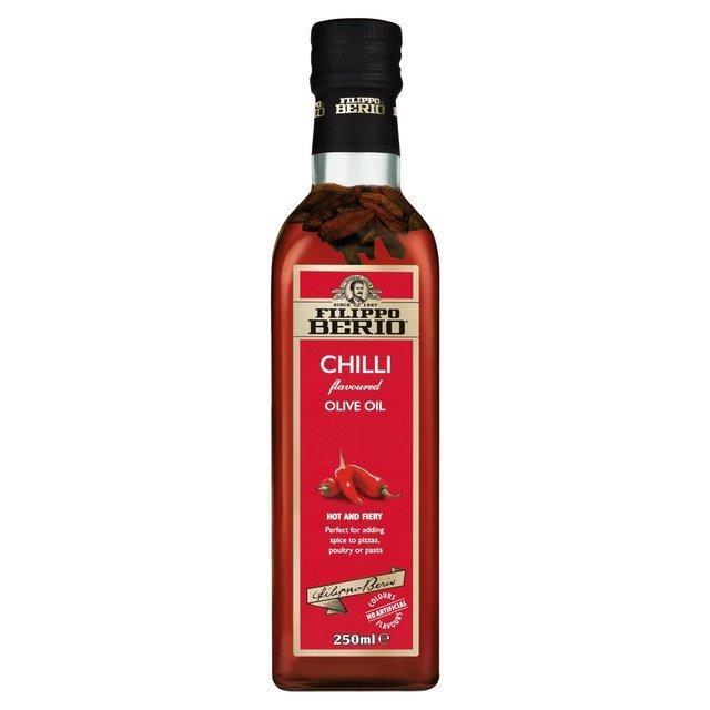 Filippo Berio Olive Oil With Chilli 250ml