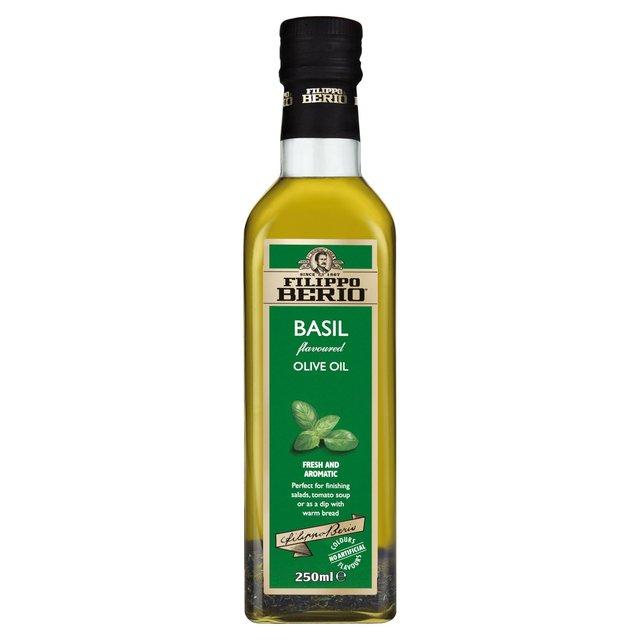 Filippo Berio Olive Oil With Basil 250ml