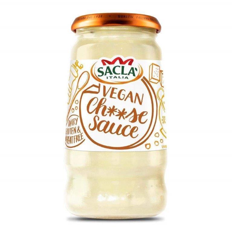 Sacla Vegan Cheese Sauce 350g NEW